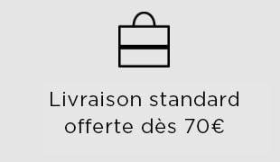 Livraison standard gratuite dès 70€