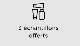 3 échantillons gratuits